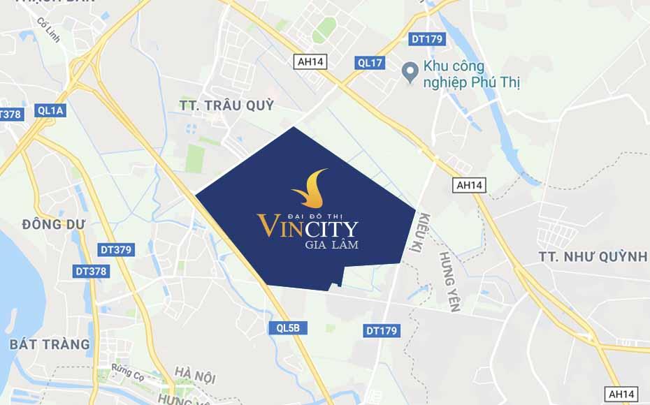 Chung cư VinCity Ocean Park Gia Lâm sở hữu vị trí đắc địa