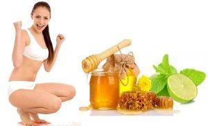Mật ong kết hợp với chanh giúp mẹ giảm cân hiệu quả