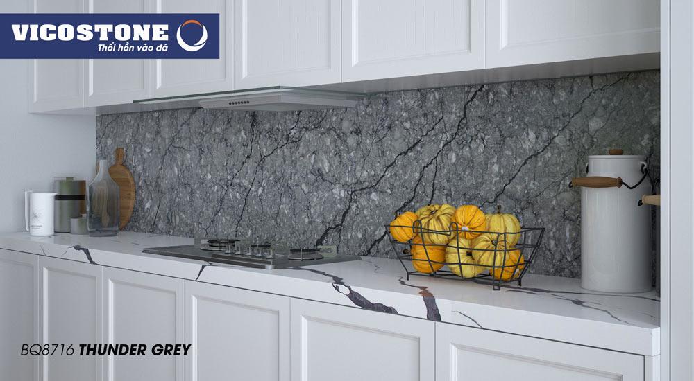 Mẫu đá VICOSTONE THUNDER GREY BQ8716