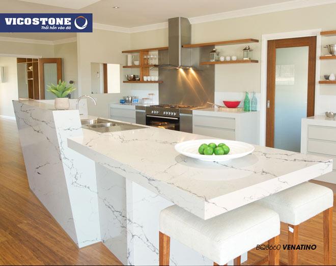 Sản phẩm đá bàn bếp có độ bền cao