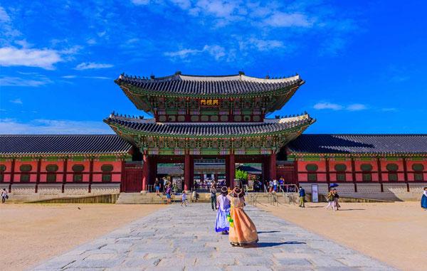 Khám Phá Cung Gyeongbok