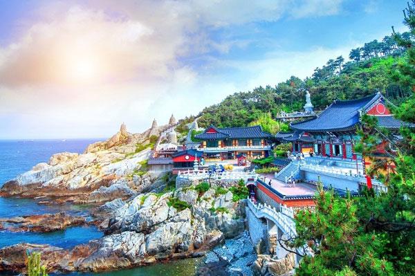 ngôi chùa cổ Haedong Yonggungsa